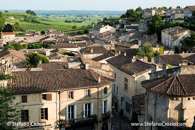 Saint Emilion: View of the town
