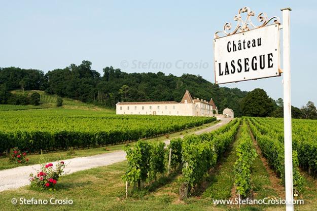 Saint Emilion: Chateau Lassegue and its vineyards