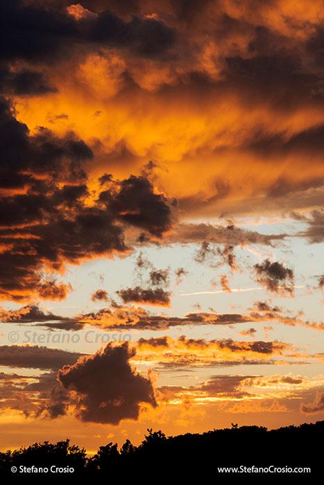 Italy, Bolgheri: Bolgheri sunset