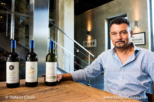 Italy, Bolgheri: Carlo Paoli, Tenuta San Guido's General Manager