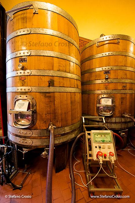 Ar.Pe.Pe.'s fermenting barrels