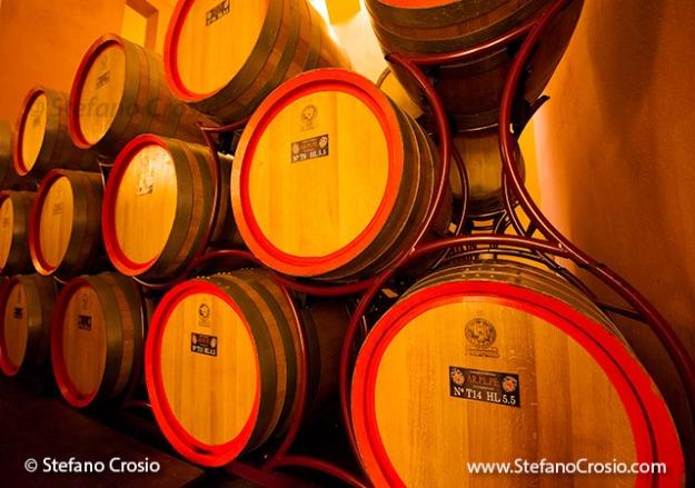 Ar.Pe.Pe.'s 5.5 HL wood tonneau aging casks