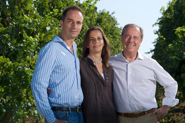 Montelvini: Alberto, Sarah and Armando Serena
