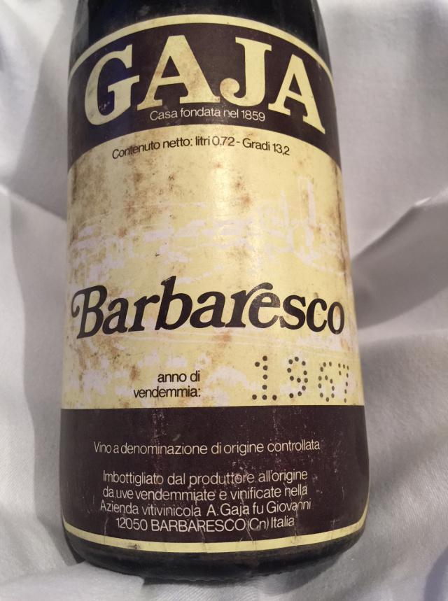 Gaja, Barbaresco DOC 1967